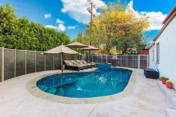 Sherman Oaks Pool Home - Los Angeles - Casa