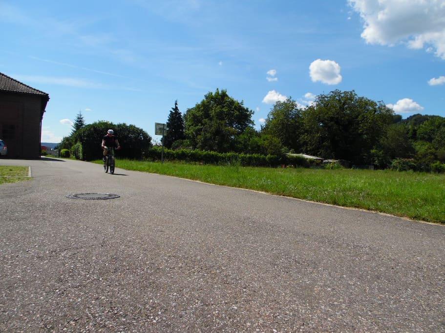 Beliebte Fahrradwege