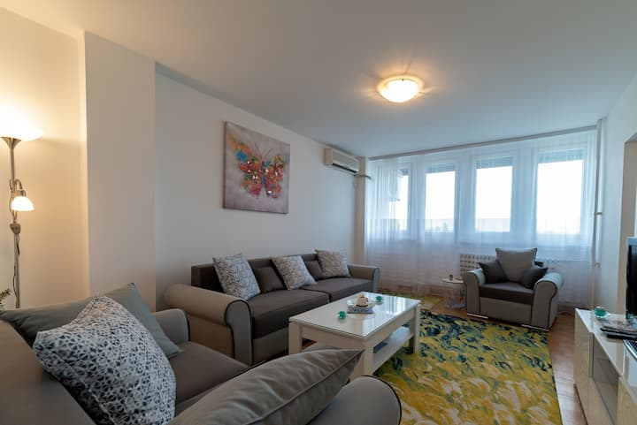 Lux apartment 21. Block where Sava and Danube meet