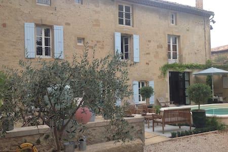La bastide de Manette 17th century provençal house - Camaret-sur-Aigues - 独立屋