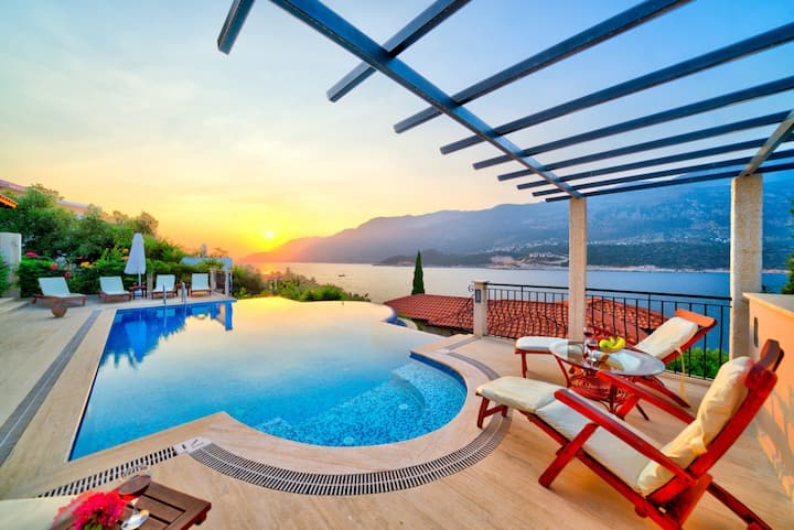 Villa Bella Vista : Unique Luxury Holiday in Kas