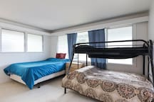 Super comfortable Novafoam mattress completes your queen bed