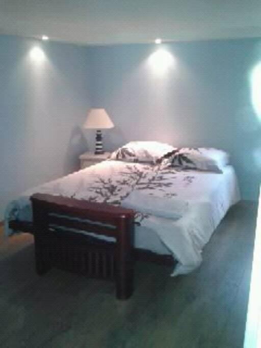 vrai lit double confortable