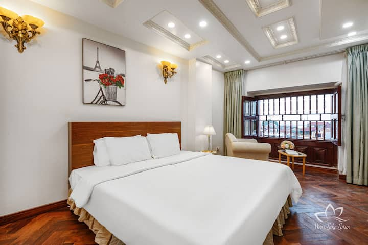 Westlake Lotus APT/1BR/1mn to West lake/Deluxe 702