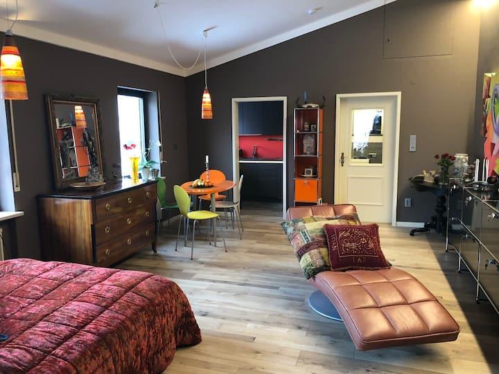 Renoviertes, stilvolles Apartment mit gro. Terasse