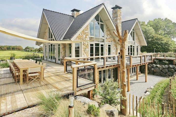Lussuosa casa vacanze con vasca idromassaggio a Noordwijk