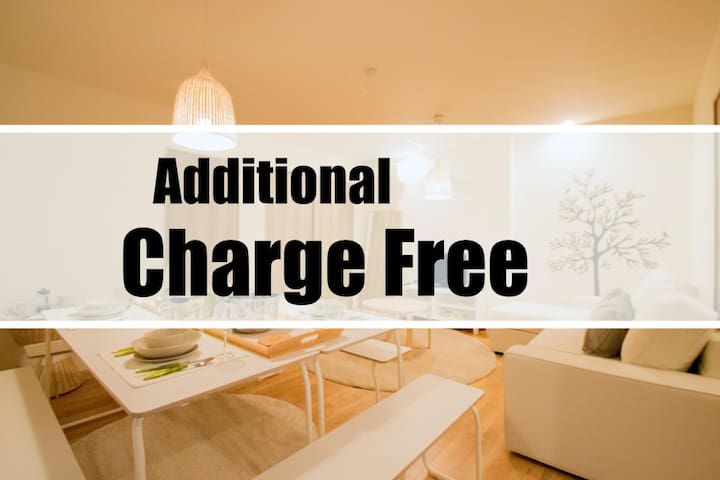 Additional Charge Free Blue Studio