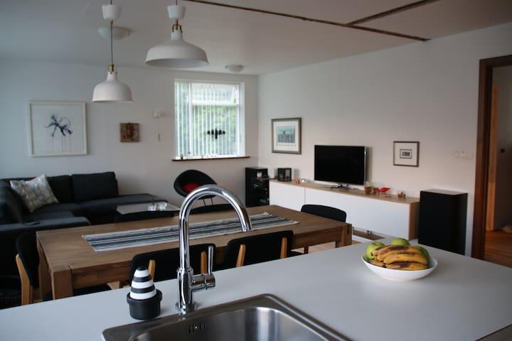 Nice one floor villa - Reyðarfjörður - Rumah