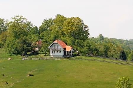 House for rest Kuća za odmor Trešnjica DebeloBrdo