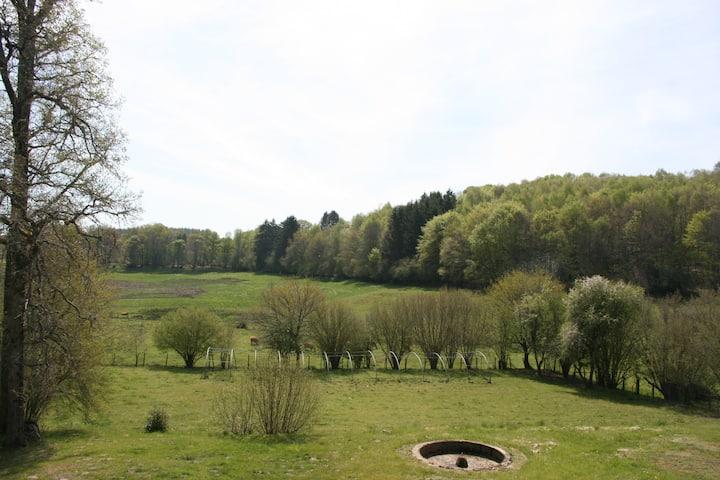 Chambre d'hôte au Château d'Aubepeyre