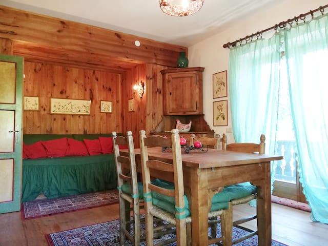 Grazioso Appartamento a Cortina con Wi-FI