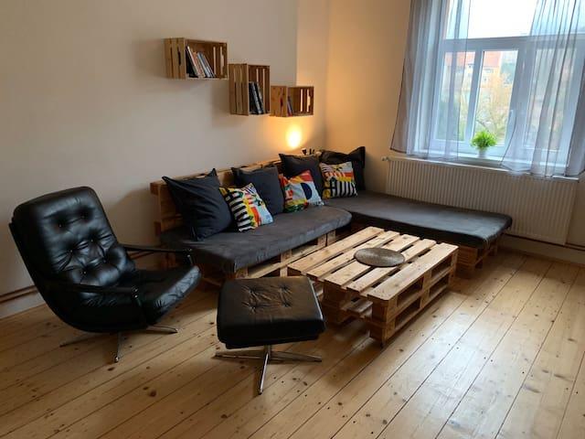 Klidný a útulný byt v centru města