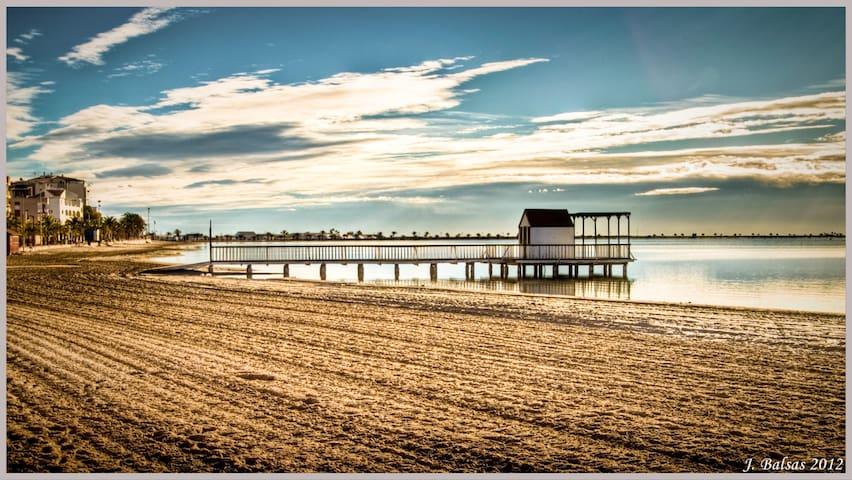 Preciosa casa de playa - Lo Pagán - Bungalo