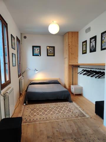 Camera da letto privata.