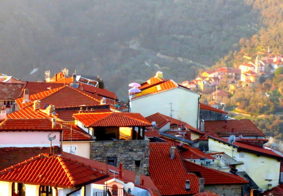 Il tetto panoramico