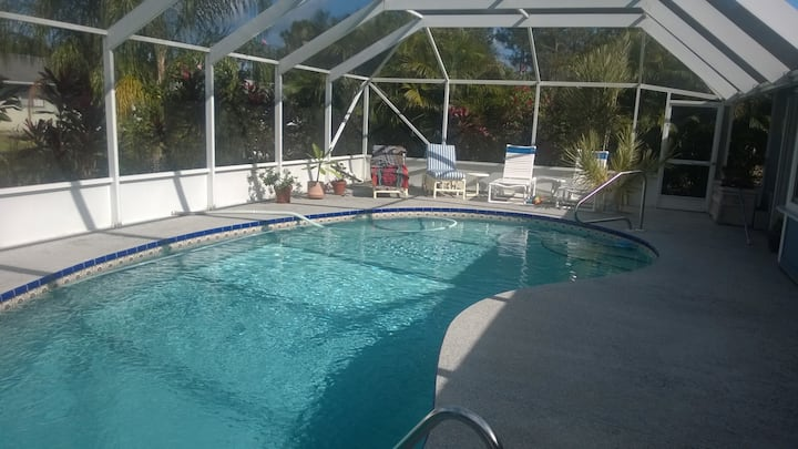 Heated Pool Home with Private Landscaping