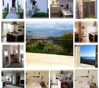 Casetta vista mare / Sea view house - Noli