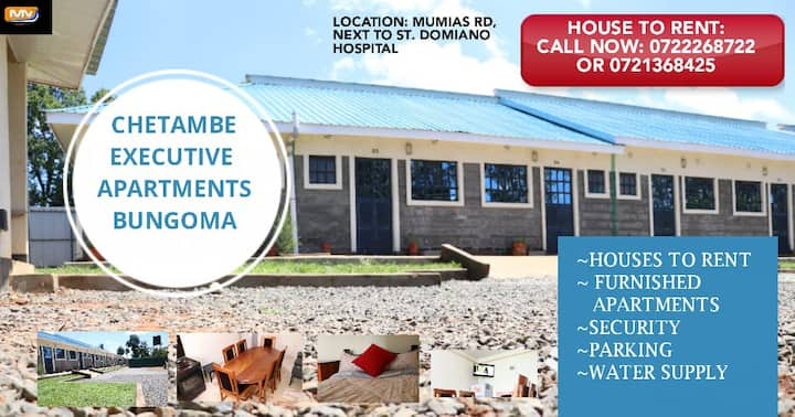 CHETAMBE STUDIO APARTMENTS IN BUNGOMA TOWN/ COUNTY