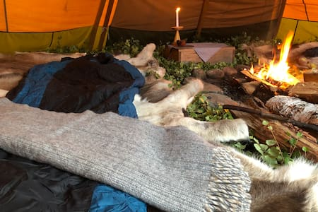Experince a uniqe night in a Tipi