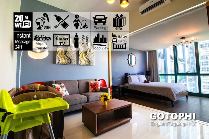 Gotophi Luxurious 5Star hotel One uptown BGC 20XS
