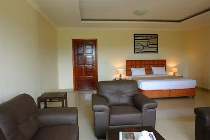 ***** central down town Presidental Suites w/view