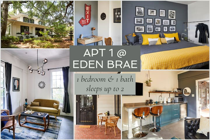 Apt1@EdenBrae-Serene,Walkable,Prof Cleaned,Modern