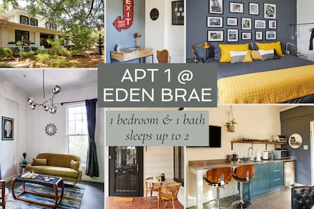 Apt1@EdenBrae - Serene, Walkable, Modern Retreat, Named Best in Bham
