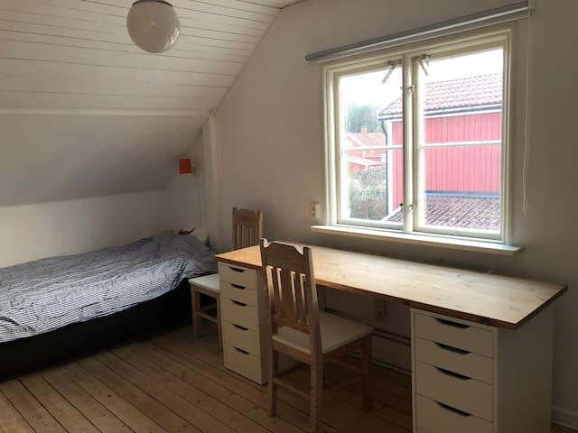 Sovrum 3 har två sängplatser
