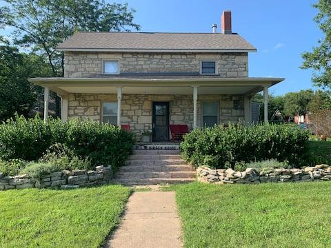 Stone Country Farmhouse