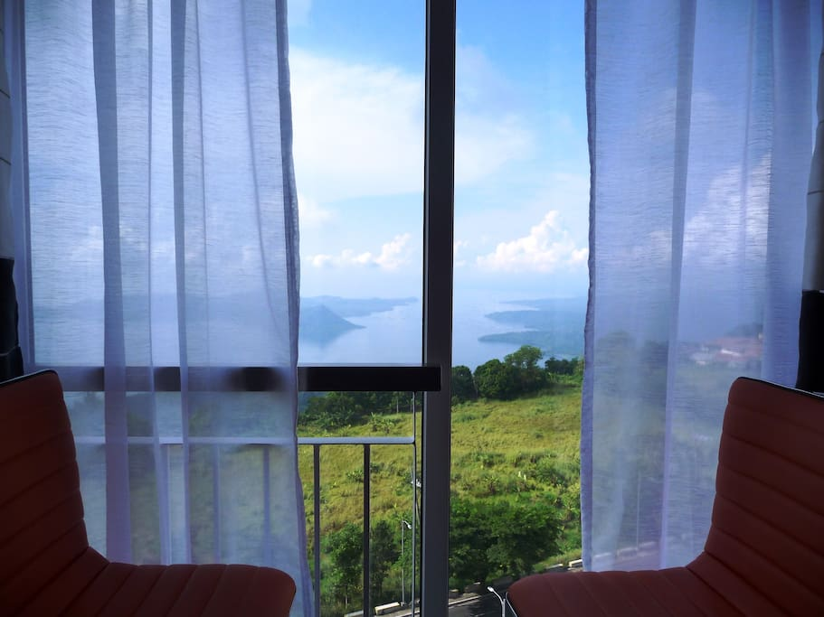 nice view of Taal