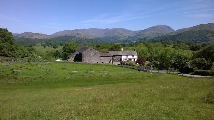 Stable cottage Nr. Ambleside with wonderful views.