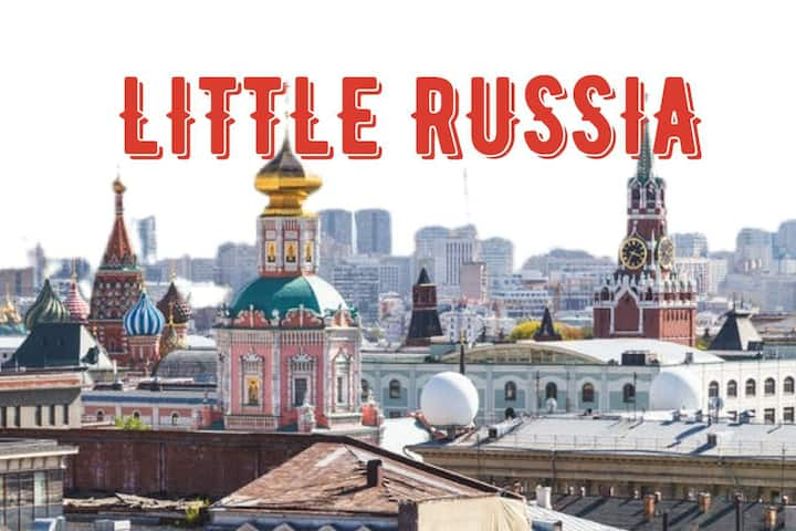 40% OFF | LITTLE RUSSIA | DISINFECTED REGULARLY