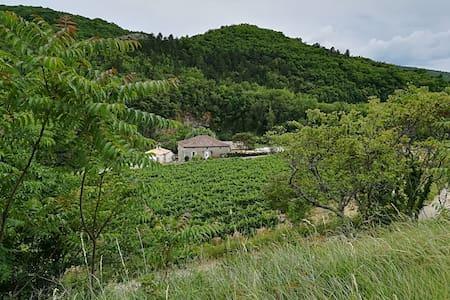 Gite 4/6 pers. Découvrez le sud de l'Ardèche !
