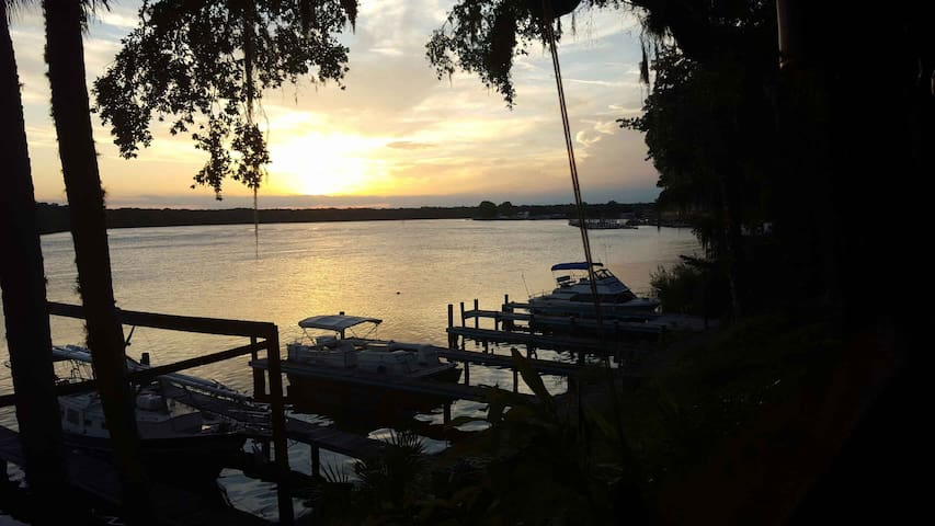 Waterfront Guesthouse on the St John's River - Welaka