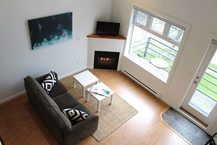Beautiful modern oceanfront condo - Tofino - Flat