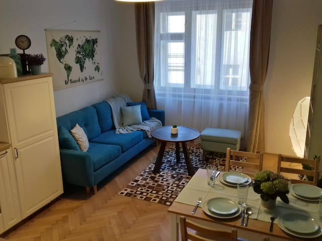 New in local part of Prague, 1O minutes centre
