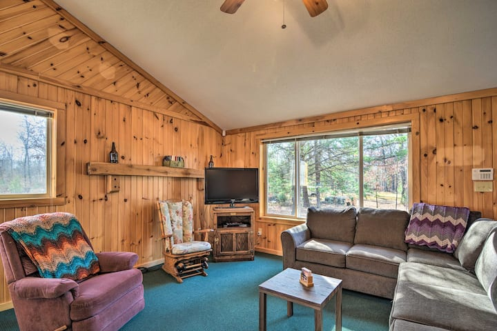 NEW! South Branch Hunting Cabin on 17 Quiet Acres!