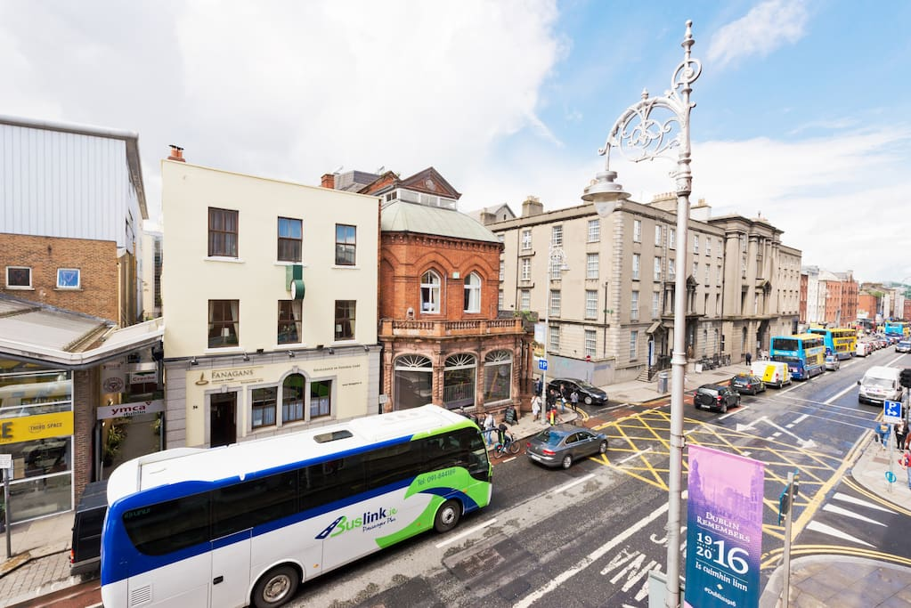 Aungier St, just past George's St and around the corner from St Stephen's Green