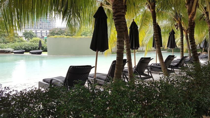 Resort Style Stay with Sandy Beach Pool @ Sunway