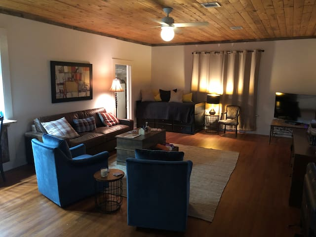 Living area, with trundle large twin beds. Can accommodate two small adults or two children.