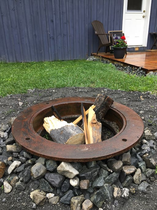Fire pit.. we can provide fire wood!