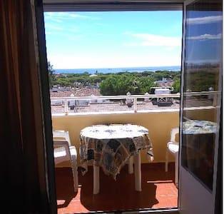 Vistas al mar en urbanización privada - Moguer - Apartmen