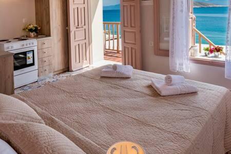 Halki sea view charming apartment