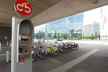 Rent a bike - Citybike Station Krieau