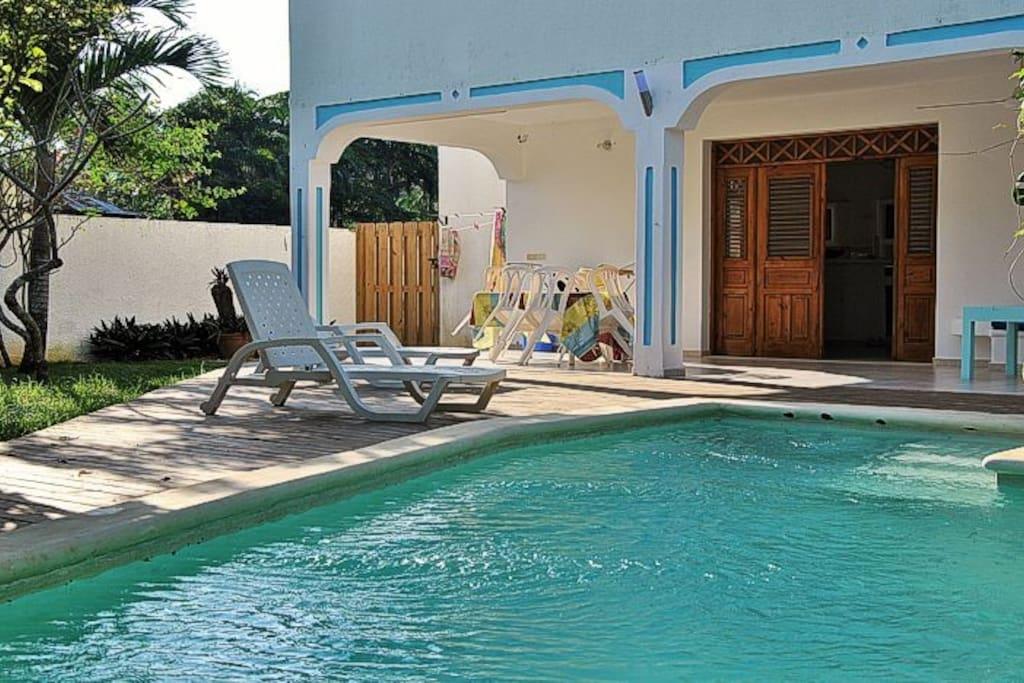 Pool/main entrance
