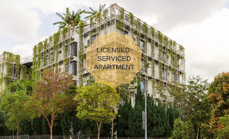 1 bedroom service apartment in orchard near subway