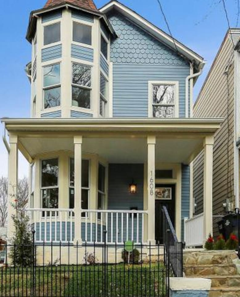 This historic home was built in 1905 and was completely renovated in 2018.