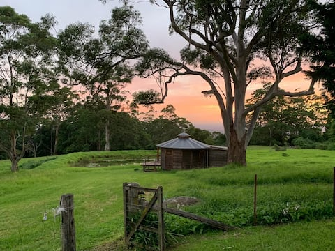Charming, Secluded Yurt with a View in Berry