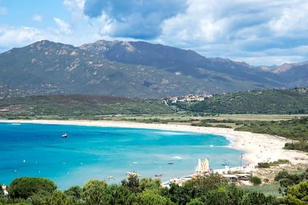 Villa Sampiero T3 vue mer, plage à 200 m, 6 pers - Propriano