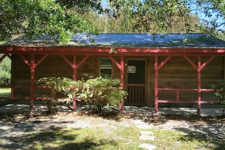 Cypress cabin on wildlife sanctuary - Gainesville - Blockhütte